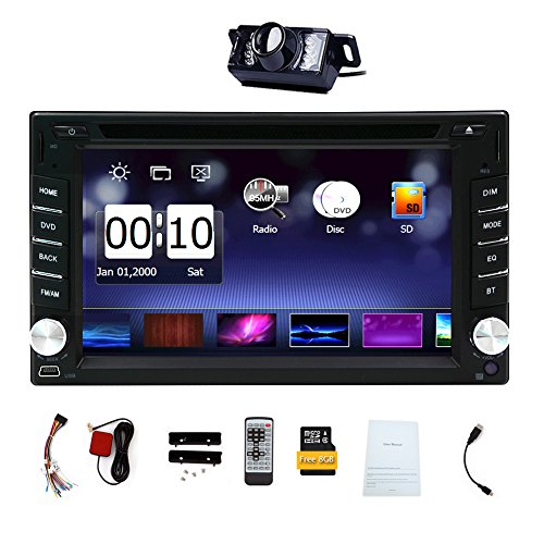 Lettore DVD Autoradio Multimedia Automotive Parts 3D CD GPS Auto Radio Elettronica 2 din in dash MP3 Musica Headunit autoradio In Deck Video Car logo Back Camera