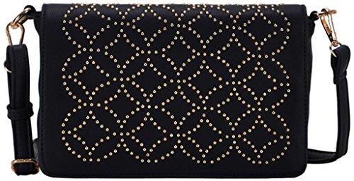Madison West Karlie Women'S Black Cross-Body Handbag