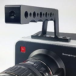 ePhotoInc Top Handle Grip For BlackMagic Camera Cage BMCC Cinema Camera Handle Top-BMCC