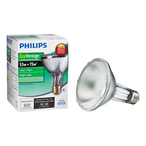 Philips 419549 53-Watt Par30L Ecovantage Dimmable Flood Light Light Bulb