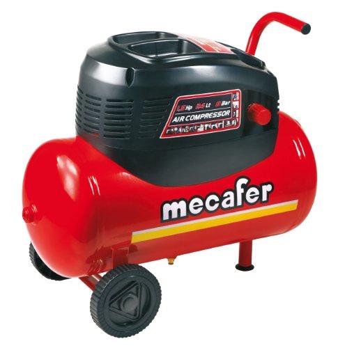 mecafer-425068-compresor-de-aire-1100-vatios-color-rojo