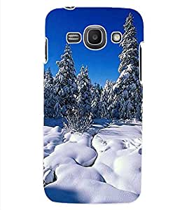 ColourCraft Beautiful Snowfall Design Back Case Cover for SAMSUNG GALAXY ACE 3 S7272 DUOS