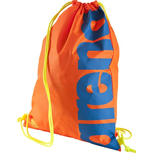 Arena - Sacca quasi Swimbag, Unisex, Turnbeutel Fast Swimbag, Orange/Royal