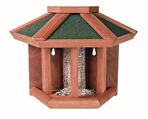 Trixie Bird Table /Feeder Natura With Hopper, Semi-Circular, 45X32 21cm