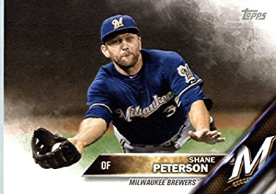 2016 Topps Team Edition #MB-16 Shane Peterson Milwaukee Brewers Baseball Card