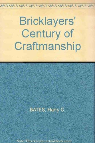 Bricklayers' Century of Craftmanship PDF