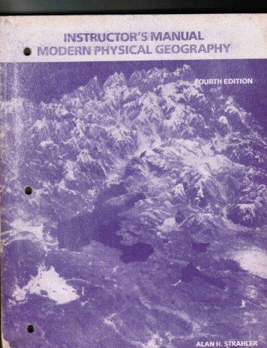 Modern Physical Geography 4e Tm