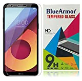 #5: BlueArmor LG Q6 Tempered Glass [ For 10th August 2017 New Release LG Q6 Mobile Phone ] Screen Guard Protector - Clear