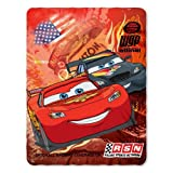 Disney Cars Blanket Fleece Throw Lightning Mcqueen 46x60