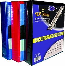 Binder - D Ring - View Thru - 2\