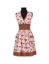 asd Living Loretta Apron with Cupcakes Design by asd Living