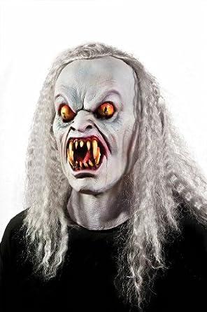 Morbid Enterprises Vampire Light Up Mask, Grey, One Size