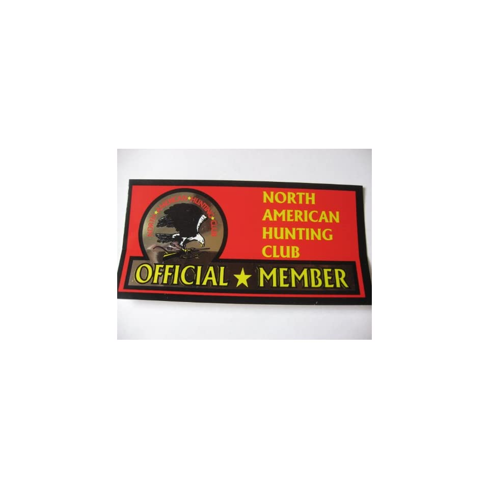 North American Hunting Club Official Member (Sticker Decal)