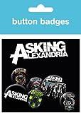 GB eye Asking Alexandria Graphics Badge Pack