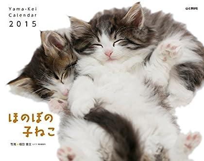 カレンダー2015 ほのぼの子ねこ (ヤマケイカレンダー2015)