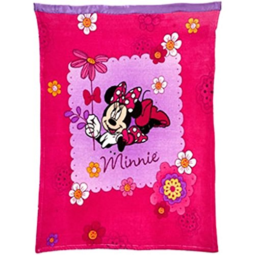 Disney Minnie Mouse Toddler/Baby Blanket - 1