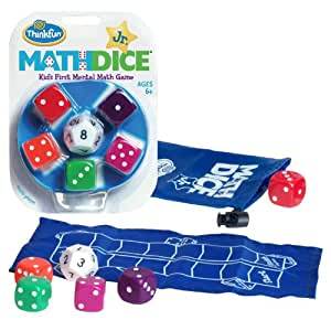 Thinkfun Maths Dice Junior (Multicoloured)(1)