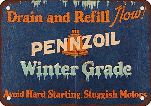 1946-pennzoil-inverno-di-olio-motore-vintage-riproduzione-in-metallo-tin-sign-178-x-254-cm