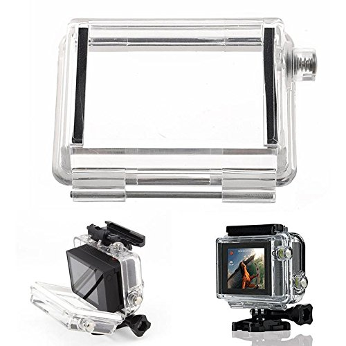 Bacpac Touched Panel Lcd Screen Case Waterproof Backdoor For Gopro Hd Hero 3