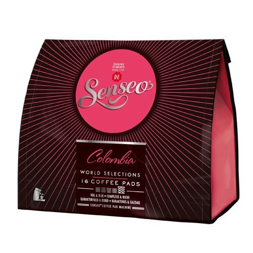 Choose SENSEO COLOMBIA SELECTION coffee pods - 16 pods x 3 = TOTAL: 48 pods - Marcilla Senseo Philips