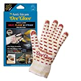 Ove Glove The Anti Steam Ove Glove Left Hand, Yellow w/ White