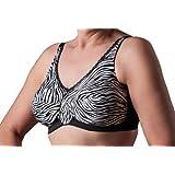 Nearly Me Zebra Soft Cup Mastectomy Bra (690)