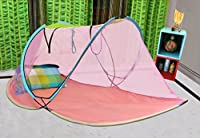 AmazingHind Mosquito Net.Foldable Mosquito Net for Single Bed. Best mosquito net online. Free cary Bag | Color - Multi Color