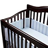 BreathableBaby Breathable Mesh Crib Liner, Blue