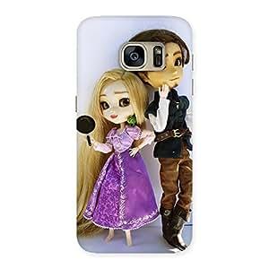 Cute Cutest Couple Multicolor Back Case Cover for Galaxy S7