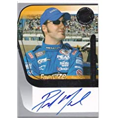 Buy 2004 Presspass Authentics Signings Paul Menard Autographed NASCAR Card by Press Pass