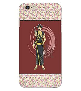 PrintDhaba Chinese Fighter D-3176 Back Case Cover for APPLE IPHONE 6 PLUS (Multi-Coloured)