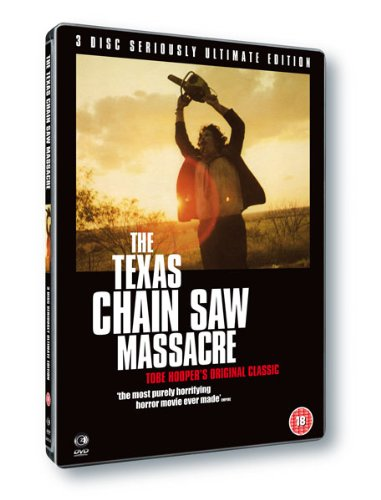NEW Texas Chainsaw Massacre-3 Disc (DVD)