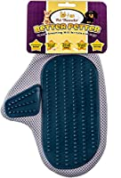 Better Petter Dog & Cat Brush Glove - Gentle Grooming Mitt Your Pet Will Love