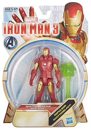 Iron Man 3 Shatterblaster Iron Man 3.75 inch Action Figure by Hasbro - 1