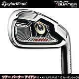 TaylorMade(テーラーメイド) TOUR BURNER アイアン RE*AX SUPERFAST 60 カーボンシャフト装着 6本セット(#5?PW) R