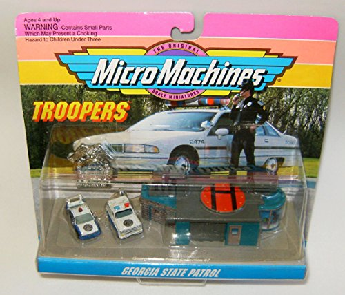 Micro Machines Georgia State Patrol Troopers Set #7 (Walker Texas Ranger Truck compare prices)