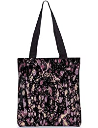 Snoogg Crazy Stuff By Aket Digitally Printed Utility Tote Bag Handbag Made Of Poly Canvas