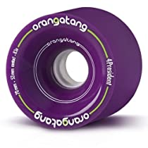 Orangatang 4 President Purple Wheels 70mm