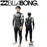 【BILLABONG】ビラボン 2015-2016 スペシャルバリュー メンズウェットスーツ BACK ZIP FULLSUIT WETSUIT フルスーツ 5-3mm セミドライ 裏起毛 ウエットスーツ バックジップ L