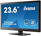 IIYAMA E2480HS-B1 23.6 inch Widescreen 1080p Full HD WLED Monitor (5ms, VGA/DVI/HDMI)