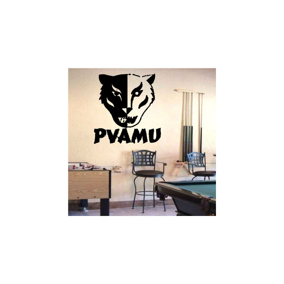 Ncaa Wall Mural Vinyl Sticker Sports Logos Prairie View A&m Panthers (S722)