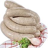 """Bratwurst Gebr�ht - Polnische Wei�wurst - Polska Biala Parzona - 4 St�ck ca. 500 g - METZGERFRISCH!!!von """"Smiarowski"""""""