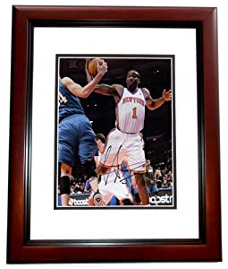Amare Stoudemire Autographed Hand Signed New York Knicks 8x10 Photo - MAHOGANY CUSTOM... by Real Deal Memorabilia