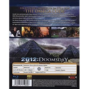 2012: Doomsday 3d [Blu-ray] [Import allemand]