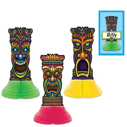 Tiki Playmates 5¾in. 3/Pkg, Pkg/1