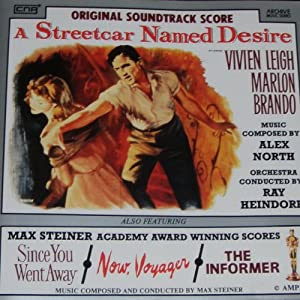 a streetcar named desire max steiner academy award winning scores now voyager. Black Bedroom Furniture Sets. Home Design Ideas