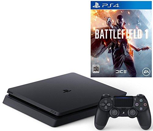 【12/6プライム会員限定 参考価格から8,160円OFF】PlayStation 4 ジェット・ブラック 500GB(CUH-2000AB01)+ バトルフィールド 1セット