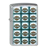 Zippo Briquet Briquet #207 Harley Davidson Bar Shield Repeated