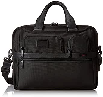 Tumi Alpha 2 T-Pass and Reg Expandable Laptop Brief, Black, One Size