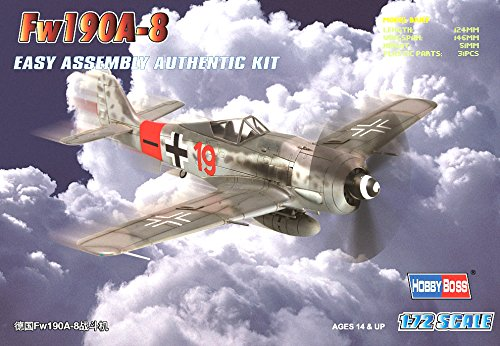 Hobby Boss Fw 190A-8 Easy Assembly Airplane Model Building Kit